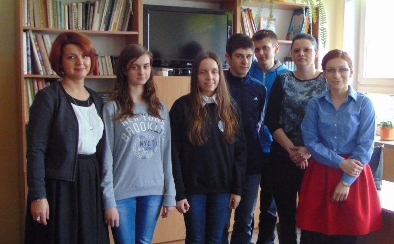 Gimnazjum nr 2. Gminny Konkurs Wiedzy z Języka Niemieckiego GALILEO (zdjęcia)