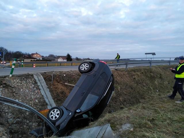 Wypadek w Stadnikach, źródło: Podlasie24.pl