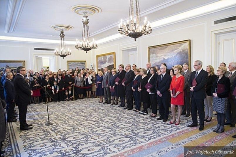 Prezydent Polski wręczył nominacje 18 marca