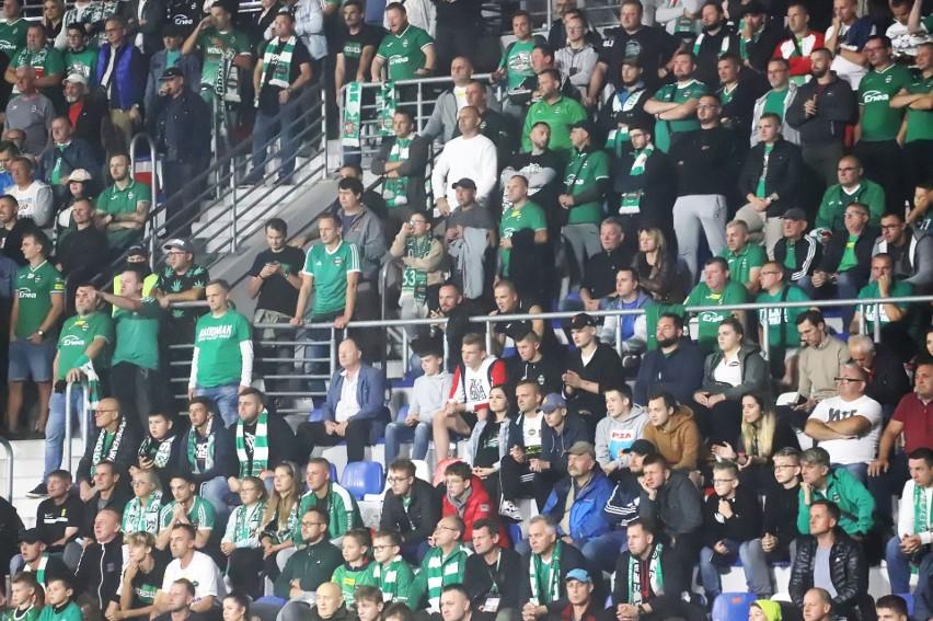 PKO Ekstraklasa: Radomiak Radom - Pogoń Szczecin 1:1. Kibice na meczu ZOBACZ ZDJĘCIA