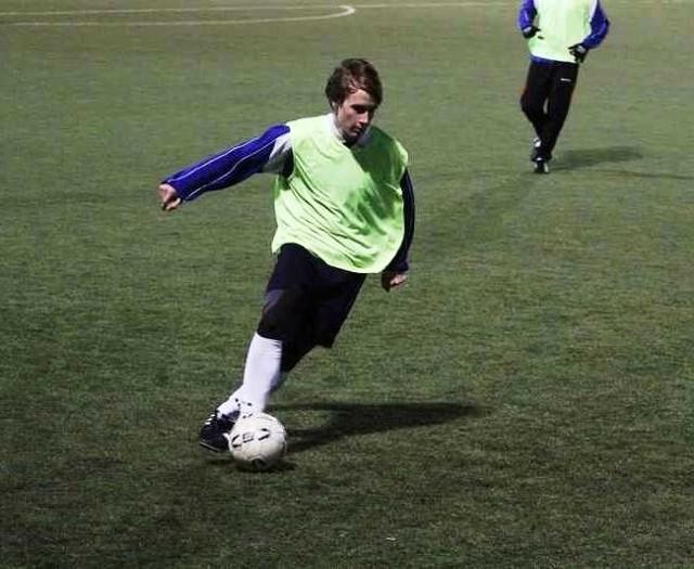 Piłkarze Olimpii Zambrów ponieśli pierwszą porażkę podczas zimowych przygotowań