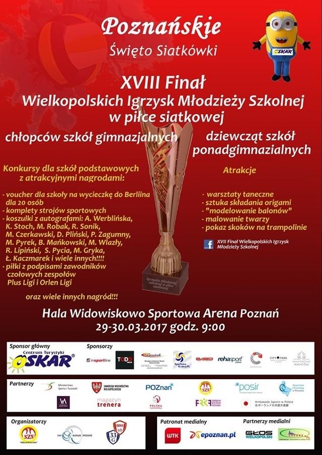 Najlepsze drużyny z poznańskich igrzysk będą reprezentować Wielkopolskę w Ogólnopolskim Finale Młodzieży Szkolnej
