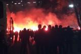 Agresywnym kibicom na meczu Górnik - Zagłębie grożą zakazy stadionowe. Rzucali butelki i kamienie