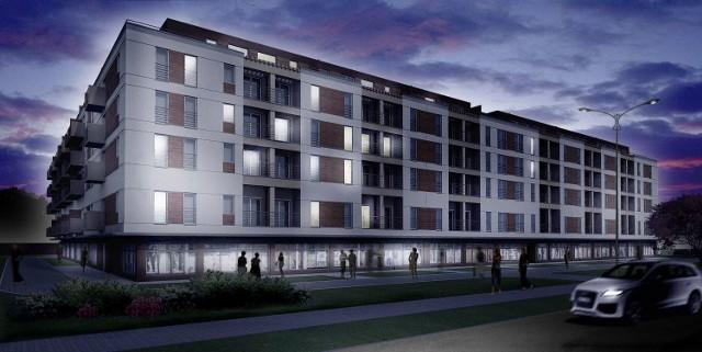 Tak bedzie wyglądał nowy apartamentowiec w oklicach ulic Kaznowskiego i Jurajskiej