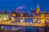 Impresjonistyczny Wrocław. Tak wygląda z budynku przy Wyspiańskiego 11 [ZDJĘCIA]