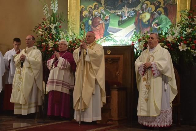 Ingres biskupa diecezji włocławskiej. Byli na nim mieszkańcy naszego regionu