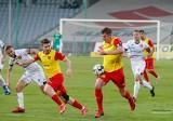 Galeria zdjęć z meczu Korony Kielce z Widzewem Łódź w Fortuna 1 Lidze. Spotkanie zakończyło się remisem 1:1