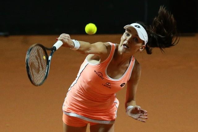 Agnieszka Radwańska zagrała do tej pory tylko jeden oficjalny mecz na kortach ziemnych