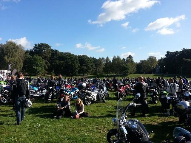 Zakończenie sezonu motocyklowego 2014 w Poznaniu