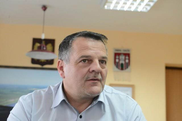 Robert Sidoruk, wójt gminy Zabór