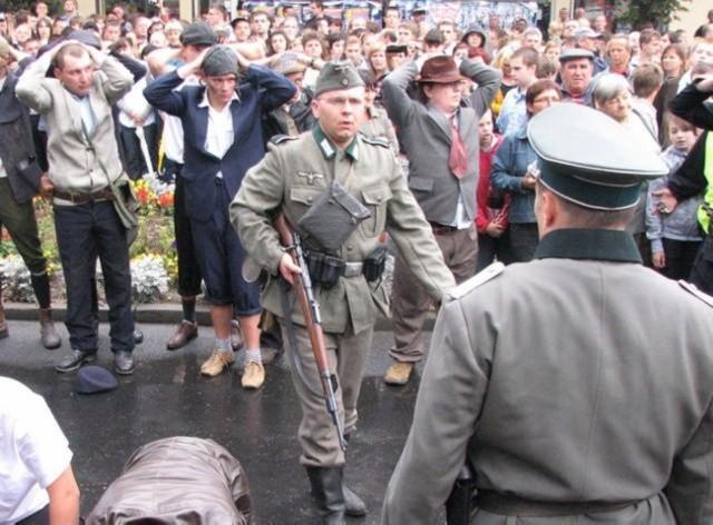 Migawka z podobnego widowiska, jakie w 2009 roku zorganizowano w Mogilnie