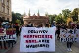 Kraków. Młodzieżowy strajk w ramach walki o ratowanie klimatu [ZDJĘCIA]