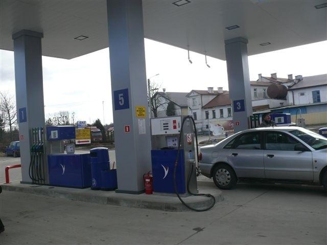 Stacja sieci Moya w Opatowie wyposażona jest w dwa dystrybutory paliwa i jeden LPG