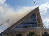 Pożar kościoła pw. Maksymiliana Marii Kolbego w Białymstoku. Jak wyglądała akcja gaśnicza i jakie są skutki pożaru?