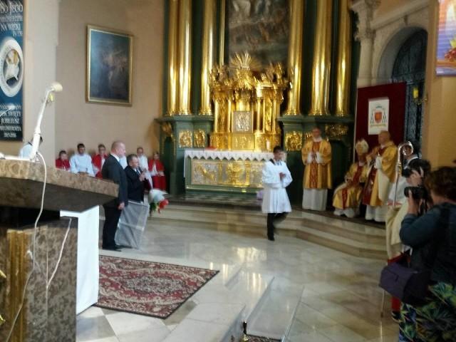 Niedzielne uroczystości w Jędrzejowie.