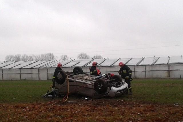 Wypadek na DK 19 w pobliżu miejscowości Haćki