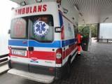 Wypadek w Karsinie. 20-latka w szpitalu z obrażeniami twarzy