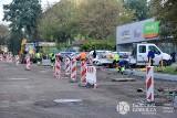 Drogowcy remontują drogę na osiedlu Kasprzaka w Dąbrowie Górniczej. Będą utrudnienia dla kierowców
