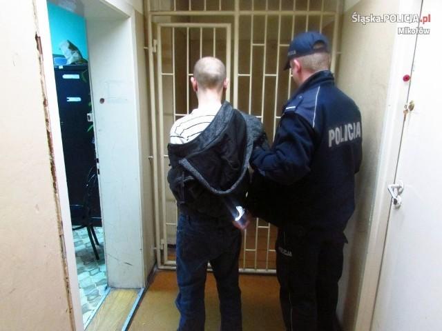 Policjanci z Komisariatu Policji w Łaziskach Górnych zatrzymali 45-latka, który ugodził nożem swojego brata