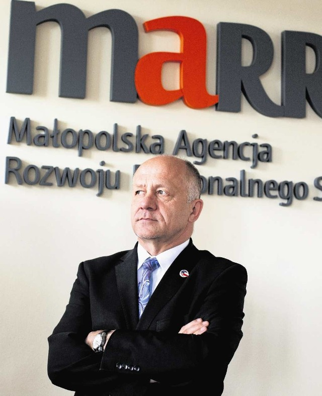 Wiesław Bury, prezes Małopolskiej Agencji Rozwoju Regionalnego, nie uważa, aby postąpił nieodpowiednio