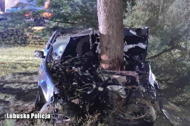 Do tragicznego wypadku doszło w czwartek, 12 listopada, niedaleko Gubina.