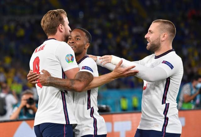 Euro 2020. Mecz Ukraina - Anglia 0:4