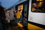 Zatłoczony pociąg Trzebnica - Wrocław to wina wrocławian?