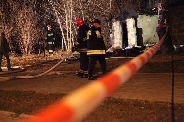 Straż pożarna błyskawicznie opanowała ogień