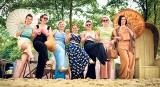 Pokaz przedwojennej mody kurortowej w Sopocie. Stroje  plażowe i gimnastyczne [ZDJĘCIA]