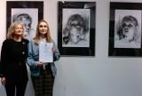 Wernisaż VII Ogólnopolskiego Biennale Autoportretu Uczniów Szkół Plastycznych Radom 2019 w Zespole Szkół Plastycznych