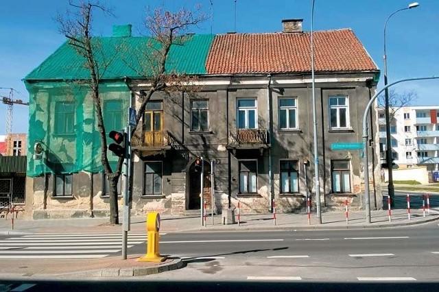 Kamienica przy ul. Sienkiewicza 55 miała być rozebrana. Nie zgodził się na to konserwator zabytków.