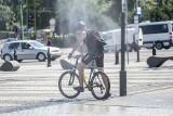 Poznań: Aquanet uruchomił kurtyny wodne w trzech miejscach