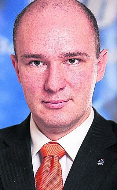 Tomasz Serafin z PKO Banku Polskiego w Poznaniu
