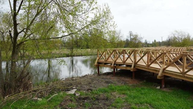 Park w Bielsku Podlaskim to jedna z niedawno powstałych inwestycji miejskich.