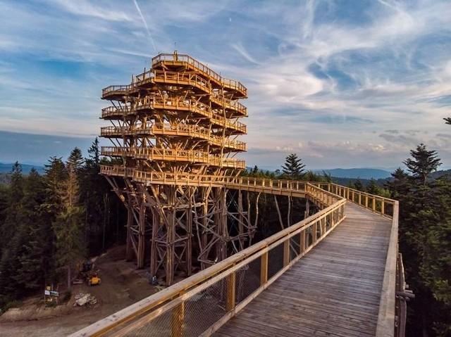 Wieża widokowa w Krynicy-Zdroju została Budową Roku