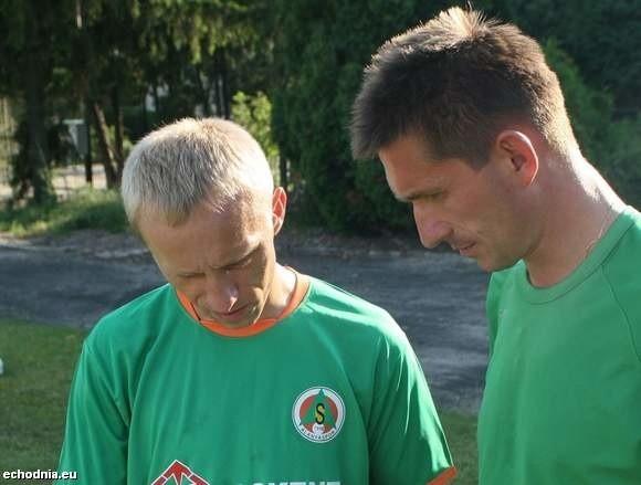Jacek Kuranty (z lewej) będzie piłkarzem Odry Wodzisław.