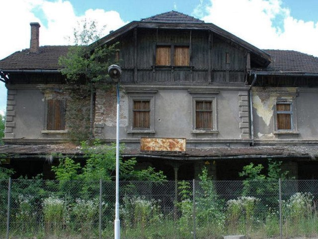 120-letni dworzec w Czudcu po odrestaurowaniu będzie pięknym budynkiem