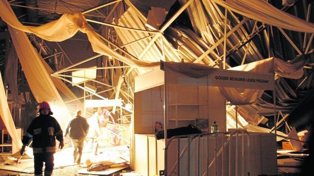 Katastrofa hali w Katowicach