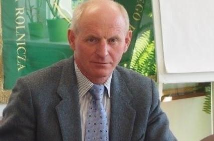 Marek Siniło - wiceprezes Podlaskiej Izby Rolniczej