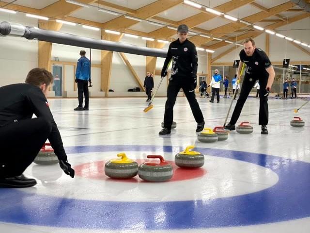 Sopot Curling Club - Team Stych - mistrzowie Polski 2021 w curlingu