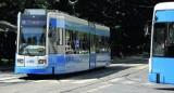 Kraków. Agresywny mężczyzna zdewastował tramwaj. Został zatrzymany