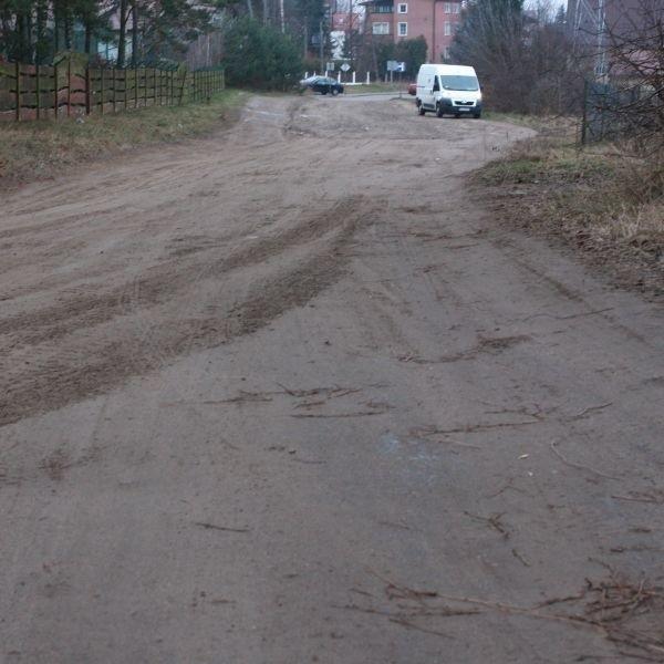 Po naszej interwencji ulica Skalna została wyrównana