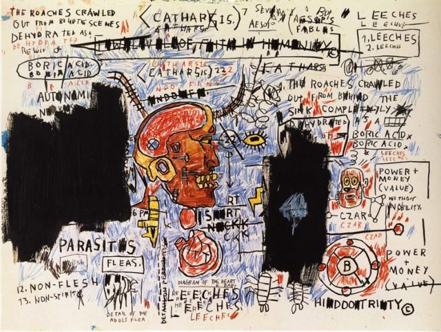 Rynek aukcyjny. Oto najdroższe nazwiska!Leeches - Jean-Michel Basquiat