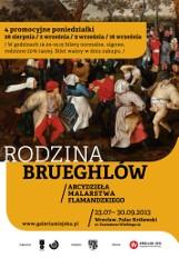 """W cztery poniedziałki bilety na wystawę """"Rodzina Brueghlów"""" o połowę tańsze"""