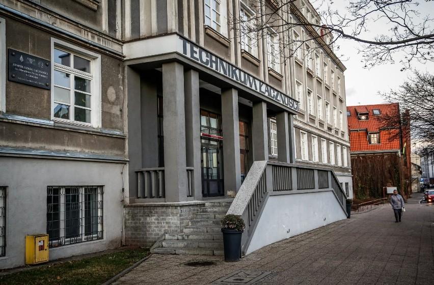 05.12.2018 gdansk.  technikum lacznosci - budynek.   fot. karolina misztal / polska press/dziennik baltycki