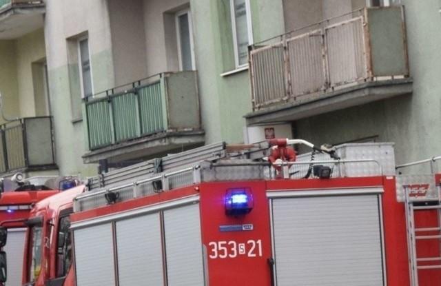 W Gliwicach ewakuowano  mieszkańców bloku, ponieważ ulatniał się gaz