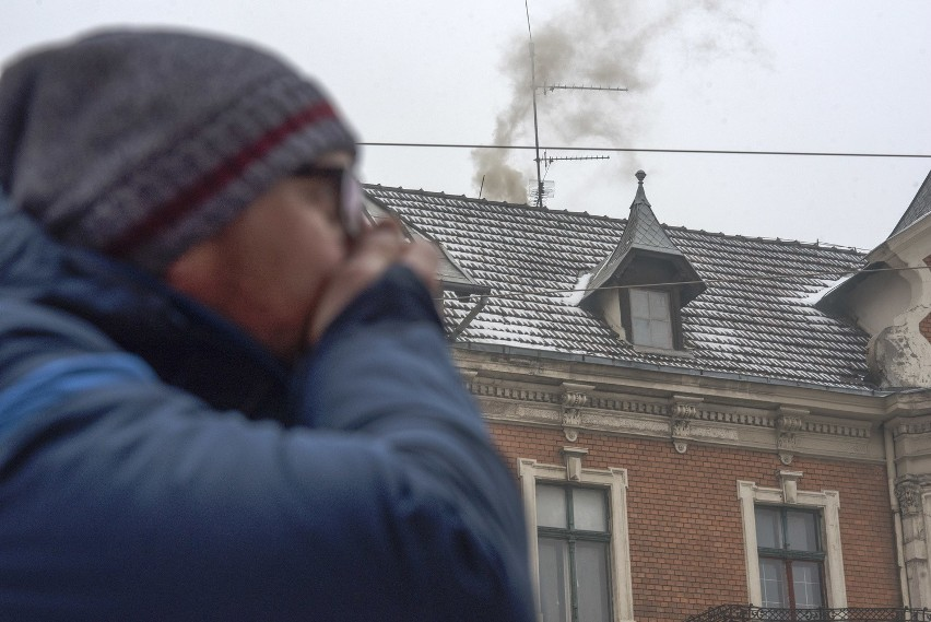 Spośród 50. najbardziej zanieczyszczonych miast w Unii...