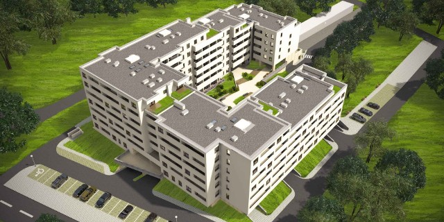 Galene HouseTak będzie prezentowało się nowe osiedle w Kielcach - Galene House.