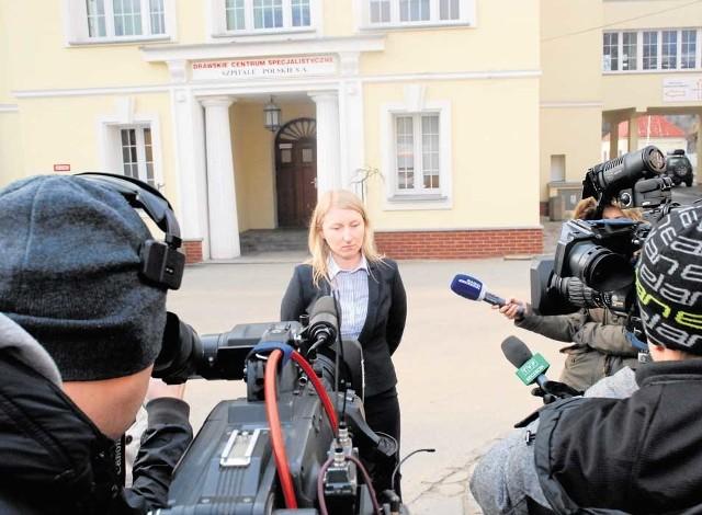 27.02. M.Podziewska informuje, że szpital będzie pracował