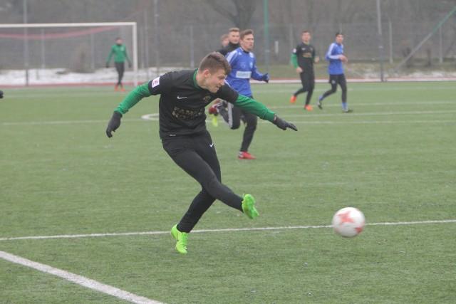 Piłkarze Warty Poznań pokonali 1:0 Górnika Konin